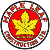 logo maple leaf construction