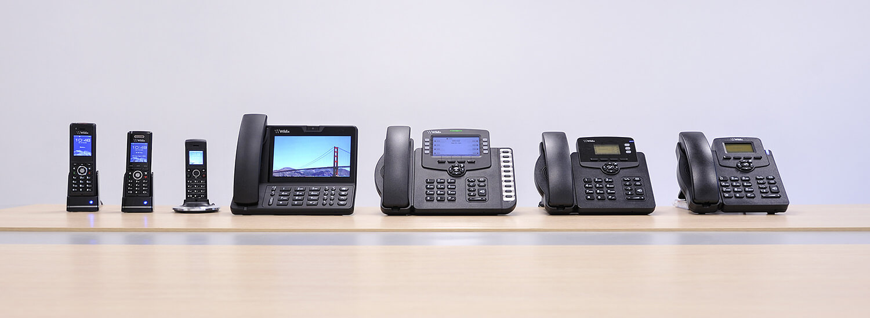 various network handsets
