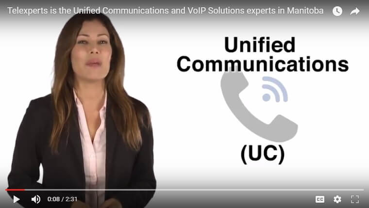 media video telexperts for unified communications
